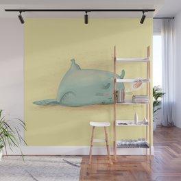 Dreaming Cat Wall Mural