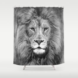 We just need a roar Shower Curtain