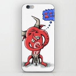 Kozie the Devil iPhone Skin