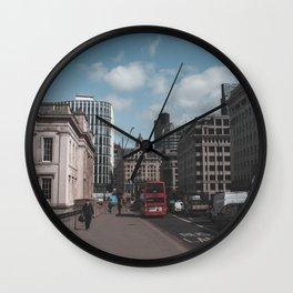 Moody London Wall Clock