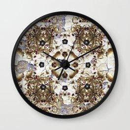 Nightshade and Black Hellebore Wall Clock