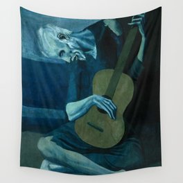 Pablo Picasso - The Old Guitarist Wall Tapestry
