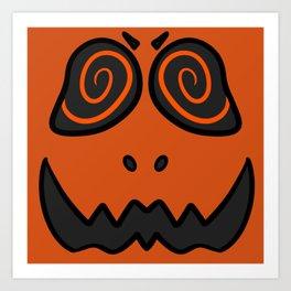 Spook friend Art Print
