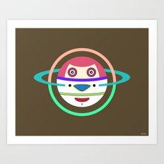 Spaceman 3 Art Print
