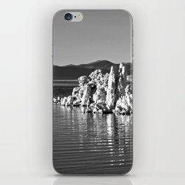 Tufa Reflections at Mono Lake iPhone Skin