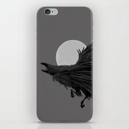 Crow & Moon iPhone Skin