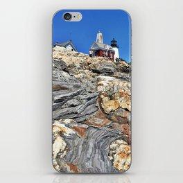Pemaquid Point Lighthouse in Bristol, Maine (1) iPhone Skin
