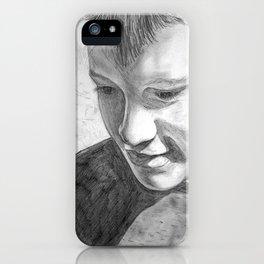 Portrait 2 iPhone Case