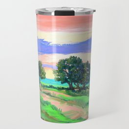 Sunset Still a Ways to Go Travel Mug