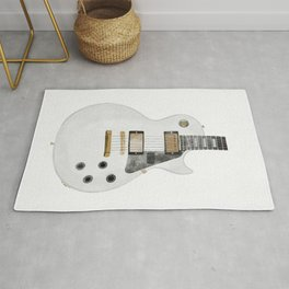 Les Paul Guitar Rug