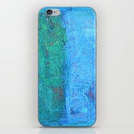 Blue iPhone Skin