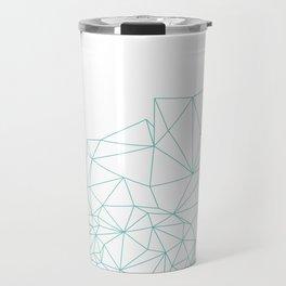 Crystal Outline Travel Mug