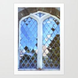 Scottish church Art Print