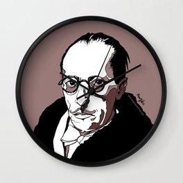 Stravinsky Russian Composer Portrait Art Wall Decor Home House Furniture Frame Music Musician Musica Wall Clock