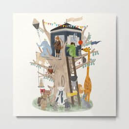 little playhouse Metal Print