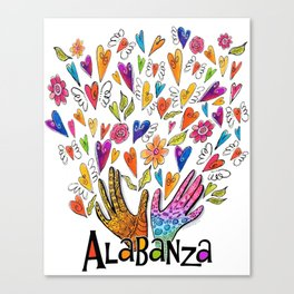 Alabanza Canvas Print