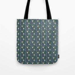 Boho Flowers - dark blue Tote Bag