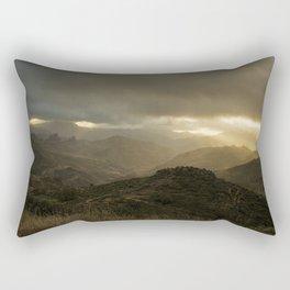 Canaria montana vista Rectangular Pillow