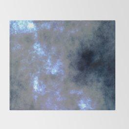 Moon Light-Foggy Night Throw Blanket
