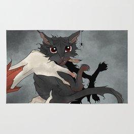 Naughty Vampire Cat Rug