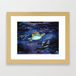 Tobias Framed Art Print