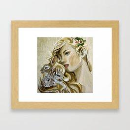 """""""Hunny Bunny"""" Framed Art Print"""