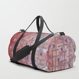 Polka dot et Line Duffle Bag