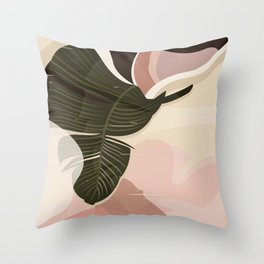 Nomade I. Illustration Throw Pillow