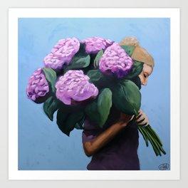Posy IV / Summer Blooms Art Print