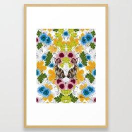 Alicia en los Tropicos by Rehcy Framed Art Print