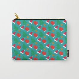 Happy New Year Merry Christmas winter holidays Carry-All Pouch