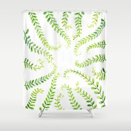 tender floral print Shower Curtain