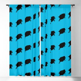 Angry Animals: Sheep Blackout Curtain