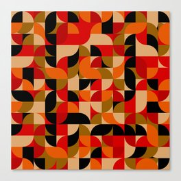 vector Design Deco, rustic colors. Canvas Print