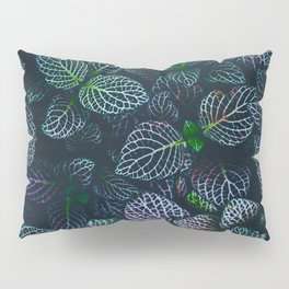Purple and Green Plants (Color) Pillow Sham