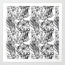 Tillandsia Tile Art Print