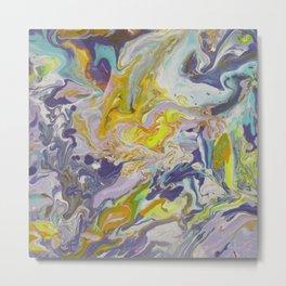 Fluid painting 11. Metal Print