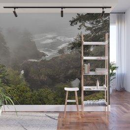 Fog Over Natural Bridges Wall Mural