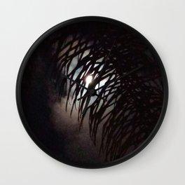 Moon Frond Wall Clock
