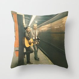 simon and garfunkel - wednesday morning, 3am - Throw Pillow