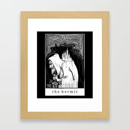 IX The Hermit Framed Art Print
