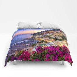 Positano Amalfi Coast Comforters