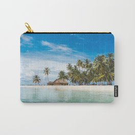 Huts on the San Blas Islands, Panama Carry-All Pouch