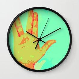 Live Long and Prosper - Spock Love Wall Clock