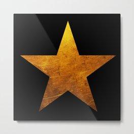 Hamilton Star Metal Print