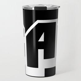 The A-BAUM Logo White Travel Mug