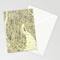 following footprints Stationery Cards