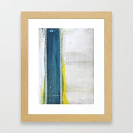 Blue Ledger Framed Art Print