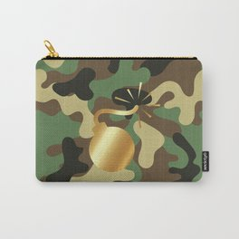 CAMO & GOLD BOMB DIGGITY Carry-All Pouch