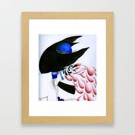 Death. Framed Art Print